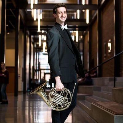 Whitworth University senior Ryan Dresen won a position with the Spokane Symphony. (Courtesy)