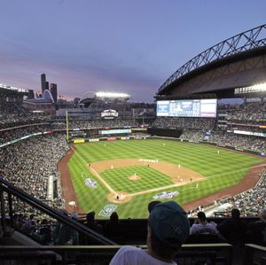Safeco Field was full for Friday night's home opener. (Associated Press)