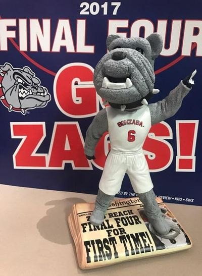A Milwaukee company will release limited edition bobbleheads of Gonzaga's mascot, Spike, to commemorate the Zags' Final Four appearance last season. (The Spokesman-Review)
