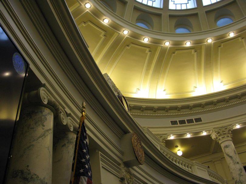 Idaho House chamber, Idaho state Capitol (Betsy Z. Russell)