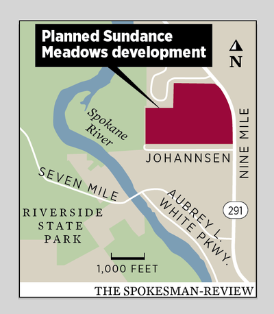 The planned Sundance Meadows Development.  (Molly Quinn/Spokesman-Review)