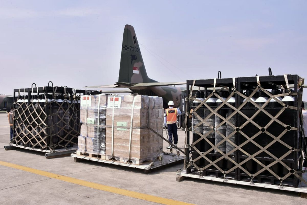 Indonesia short on oxygen, seeks help as virus cases soar   The  Spokesman-Review