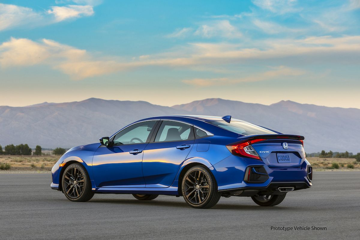 2020 Honda Civic Si Slipping Outside Of The Mainstream With Honda The Spokesman Review