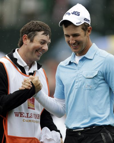 Derek Ernst, right, started the week ranked No. 1,207 in the world. (Associated Press)