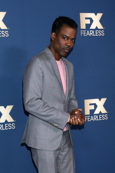 Chris Rock at the FX Winter TCA Starwalk on Jan. 9 in Pasadena, California. (Kathy Hutchins / Tribune News Service)