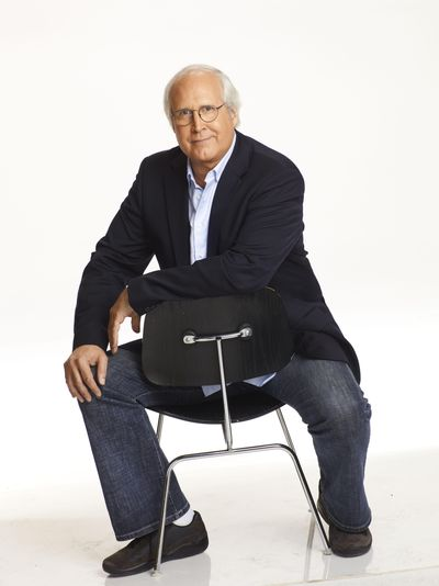 Actor and comedian Chevy Chase will share stories and answer questions from the audience at the Martin Woldson Theater at the Fox on Nov. 29. (Chris Haston / NBC)