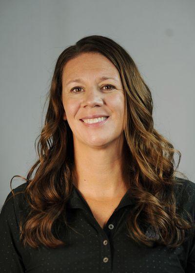 WSU volleyball coach Jen Greeny, the 2016 Pac-12 volleyball coach of the year. (WSU photo / WSU photo)
