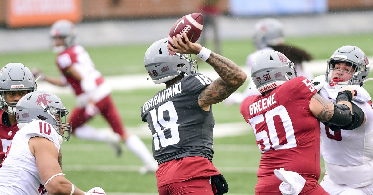 Who will take the first snaps under center? Projecting QB1 and the rest of Washington State's offensive depth chart this fall