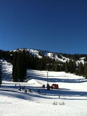 Anthony Lakes ski resort near North Powder, Oregon (Betsy Russell)