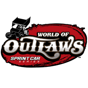 World of Outlaws Sprint Car Series logo. (Courtesy of WoO)