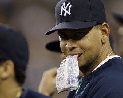 Alex Rodriguez was out of the New York lineup for second straight game.  (Associated Press / The Spokesman-Review)