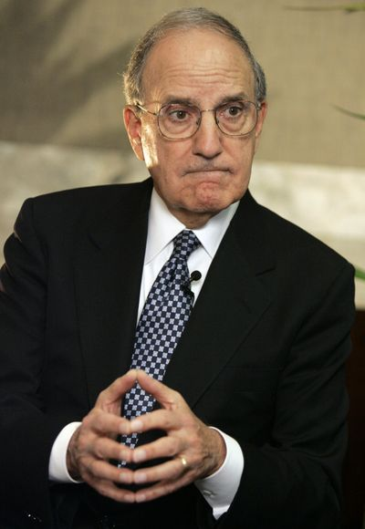 Former Senate Majority Leader George J. Mitchell, shown in 2007, is President Barack Obama's choice for Middle East peace envoy.  (File Associated Press / The Spokesman-Review)