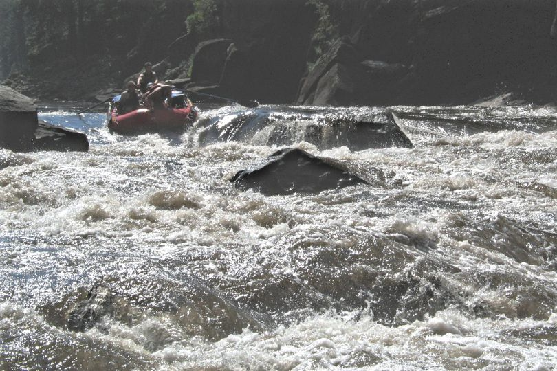 Rafting whitewater rapids on the main Salmon River in Idaho's River of No Return Wilderness. (Rich Landers)