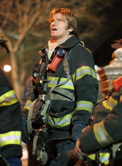 """Actor Denis Leary  is shown on the set of """"Rescue Me"""" on Jan. 29 in New York.  (Associated Press / The Spokesman-Review)"""