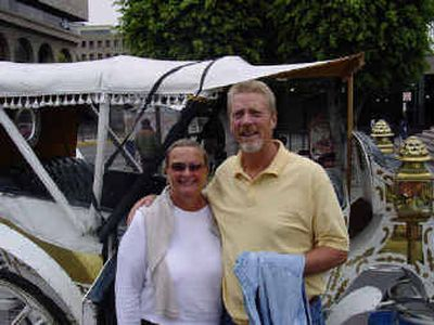 Lynne and Dave Sanders of Spokane spent the winter in Mexico.Lynne and Dave Sanders of Spokane spent the winter in Mexico.  (Photo courtesy of the SandersPhoto courtesy of the Sanders / The Spokesman-Review)