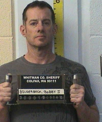 Bobby J. Bilderback, seen here in a photo from the Whitman County Sheriff's Office in 2013. (Whitman County Sheriff's Office)