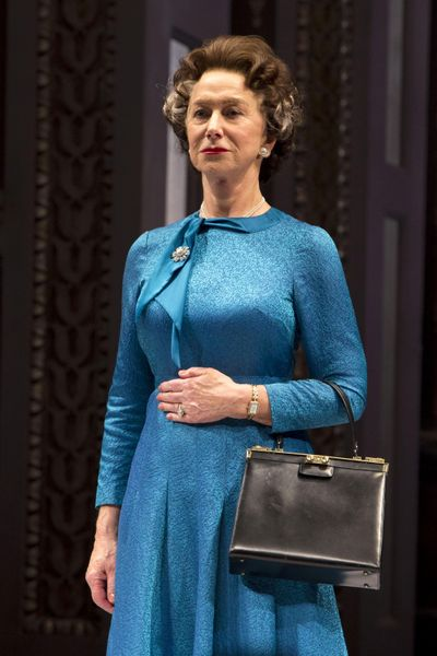 """Helen Mirren portrays Queen Elizabeth II in """"The Audience."""" A film of the stage play will be screened Sunday at the Bing Crosby Theater. (Greg Allen / Invision/AP)"""