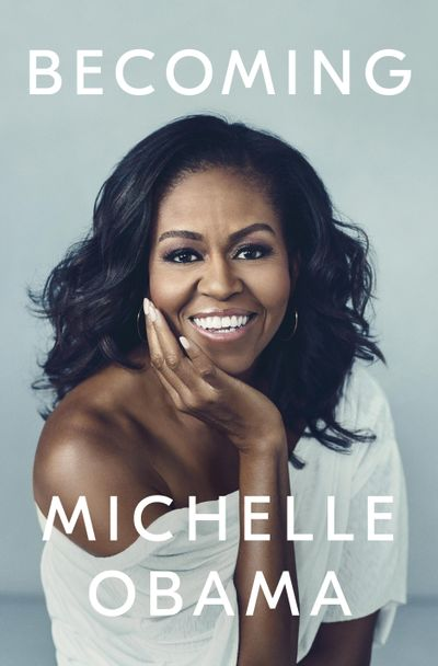 """This cover image released by Crown Publishing Group shows """"Becoming,"""" by Michelle Obama, which comes out Nov. 13. (Miller Mobley / AP)"""