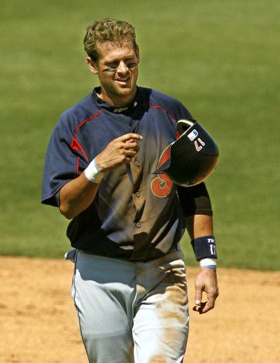Aaron Boone returned 5 months after open-heart surgery.  (Associated Press / The Spokesman-Review)