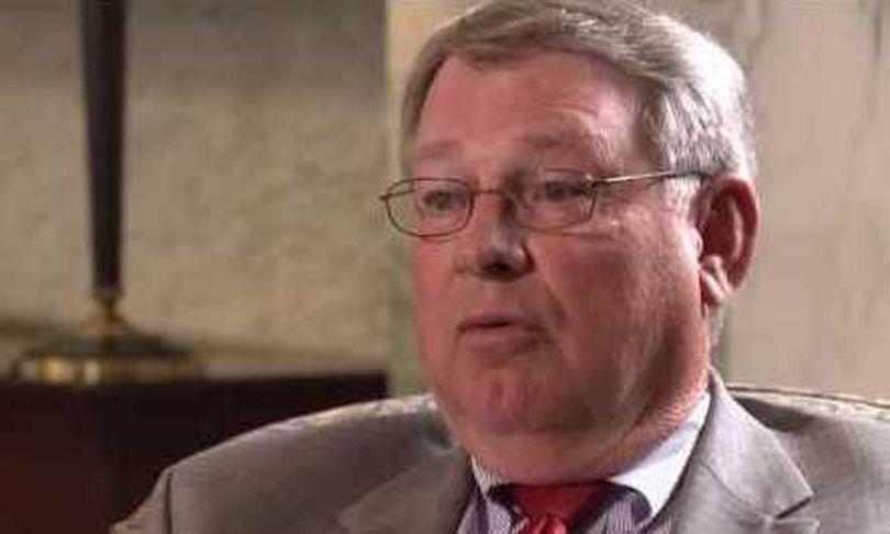 Idaho Secretary of State Lawerence Denney (Idaho Reports / Idaho Public Television)