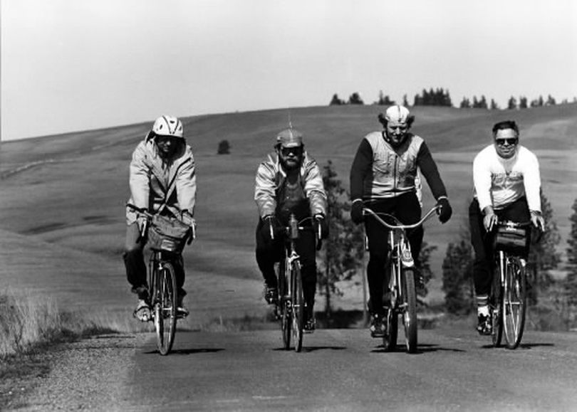 Breakfast rides became a popular Sunday non-event a generation ago. The rides were the idea of Harold Absalonson. This photo was taken March 28, 1983. (Rich Landers/Photo Archive/The Spokesman-Review)