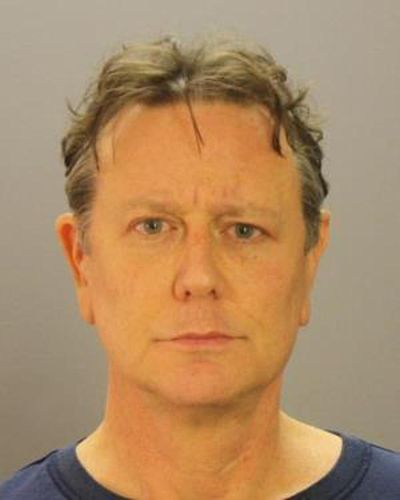 Actor Judge Reinhold apologized to Dallas Police after he was arrested Thursday in a confrontation with TSA agents at Dallas Love Field. He was released from jail on Friday. (Dallas County Sheriff's Department / AP)
