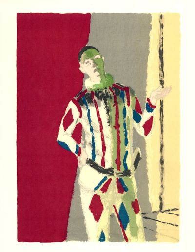 """Damn Everything but the Circus ...,"" to open at Jundt Art Museum on Aug. 17, will include Maurice Brianchon's ""L'Arlequin."" The show will run through Nov. 17."