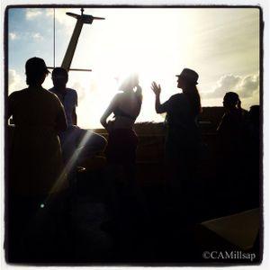 Passengers leaving Cozumel take the water taxi back to the Carnival Sunshine. (Cheryl-Anne Millsap / photo by Cheryl-Anne Millsap)