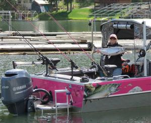 Benita Galland, Inland Northwest fishing guide.