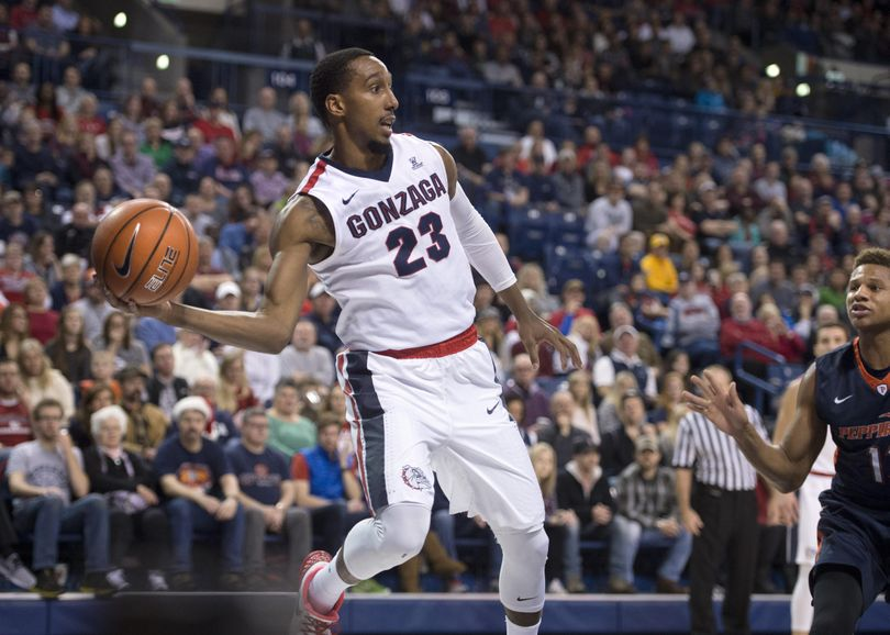 Gonzaga guard Eric McClellan seems to be taking his cue from coach Mark Few when it comes to approaching big games. (Dan Pelle / The Spokesman-Review)
