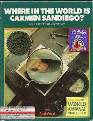 Where in the World is Carmen Sandiego? taught schoolkids geography while immersing them in a fully realized game world. (Wikipedia)