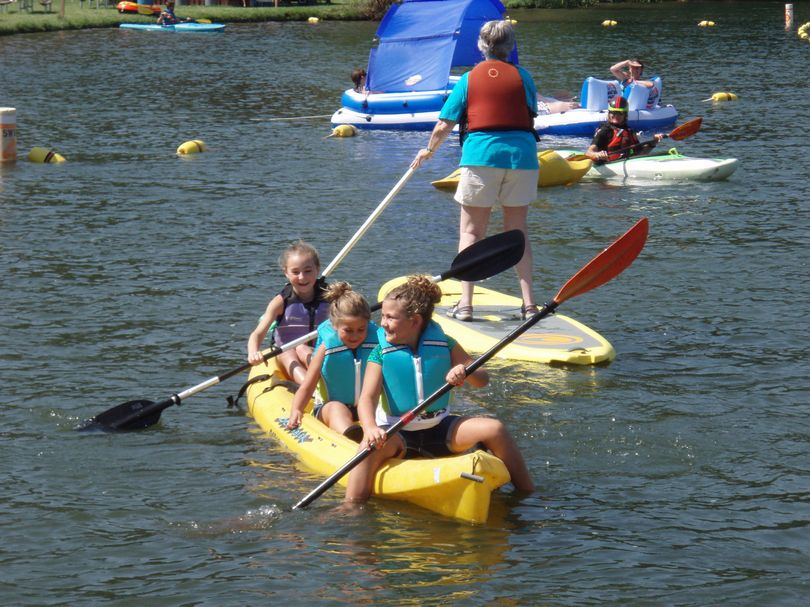 Paddle, Splash and Play designed for kids, but adults welcomed.
